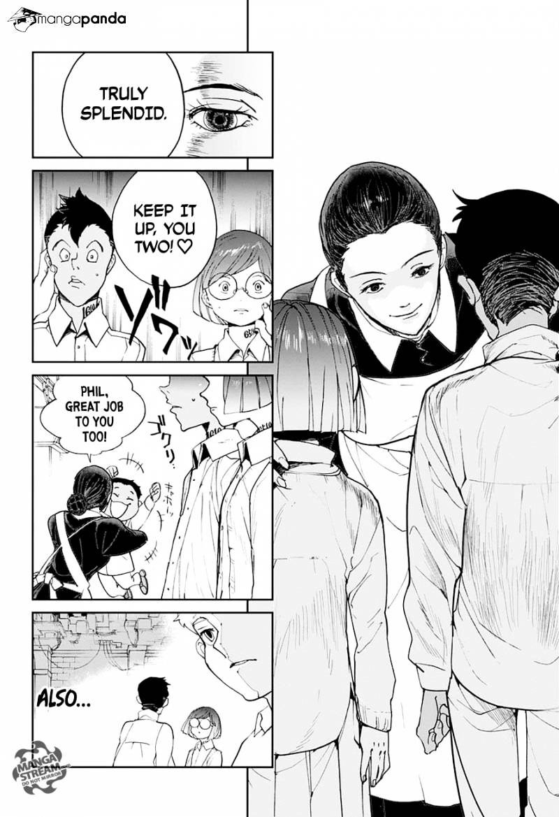 Yakusoku No Neverland Chapter 15  Online Free Manga Read Image 9