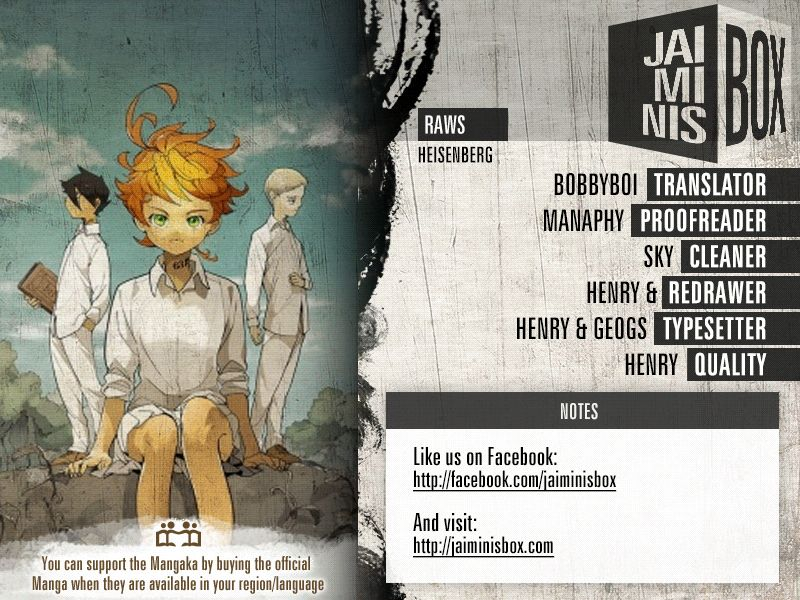 Yakusoku No Neverland Chapter 151  Online Free Manga Read Image 2