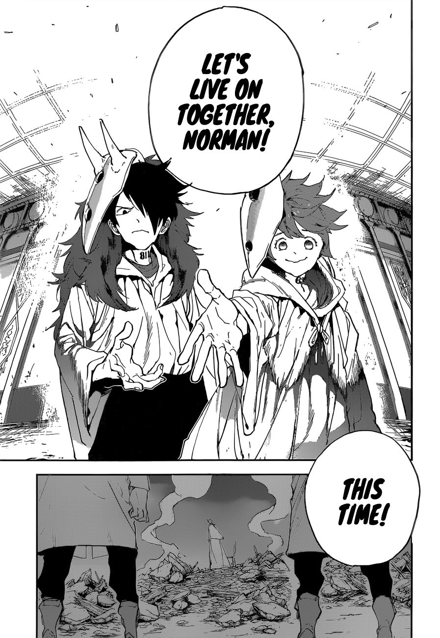 Yakusoku No Neverland Chapter 153  Online Free Manga Read Image 19
