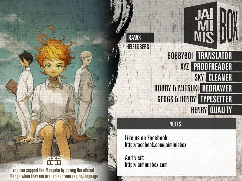 Yakusoku No Neverland Chapter 153  Online Free Manga Read Image 3