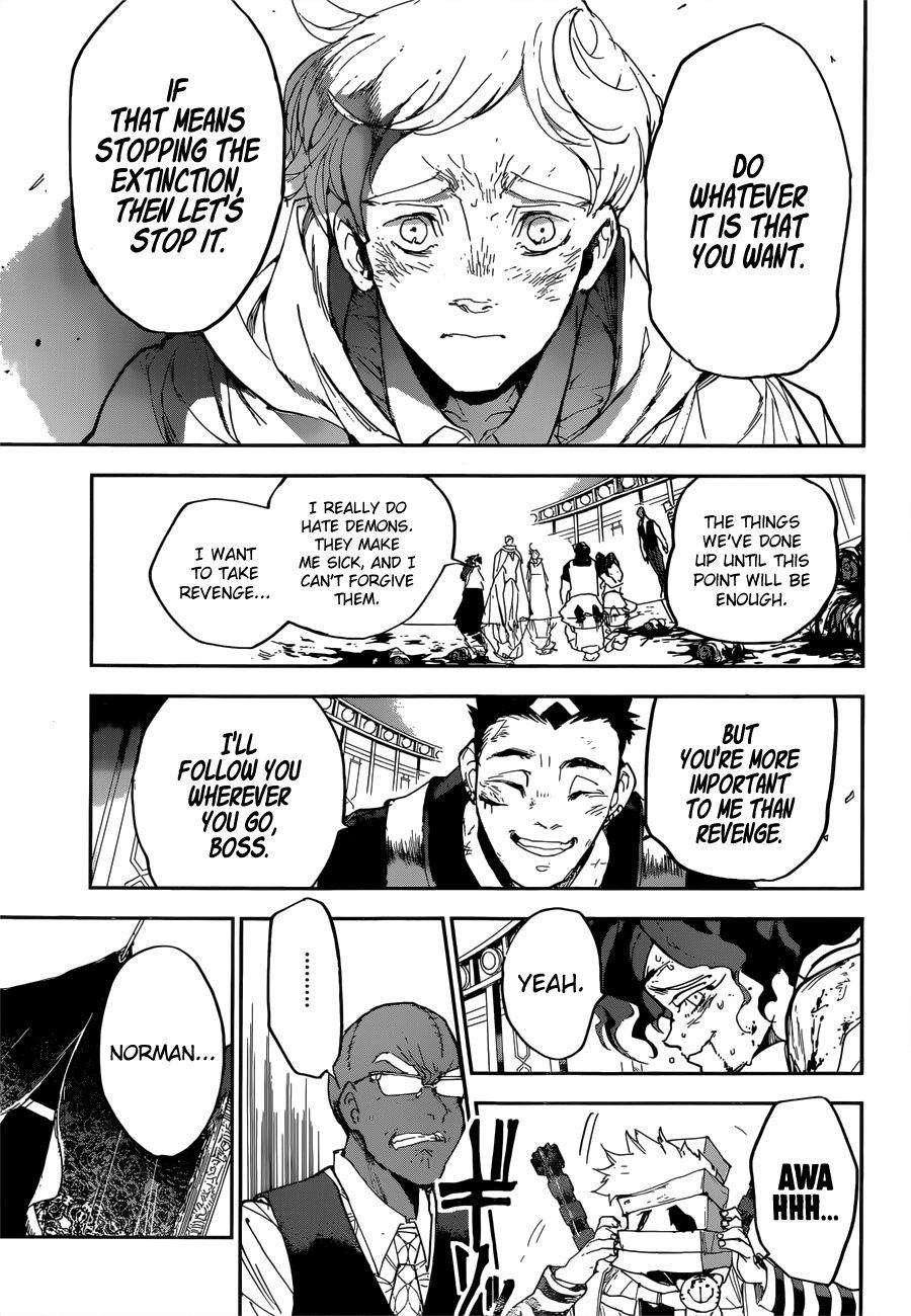 Yakusoku No Neverland Chapter 154  Online Free Manga Read Image 9