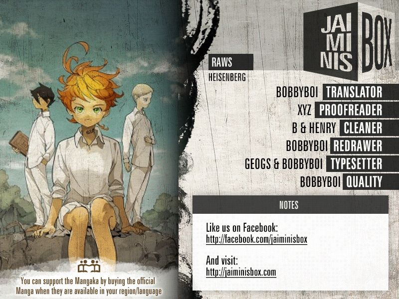 Yakusoku No Neverland Chapter 157  Online Free Manga Read Image 2
