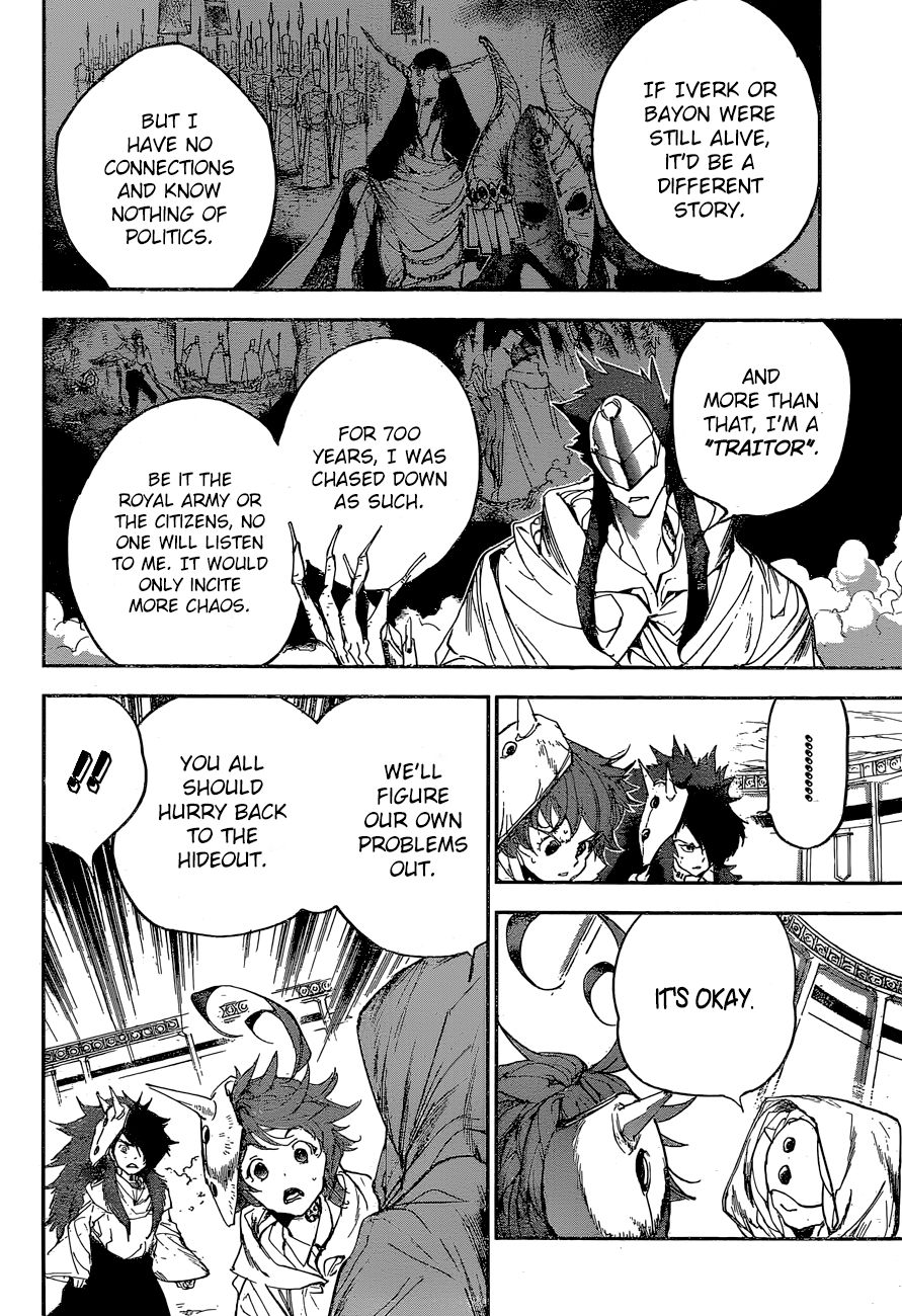 Yakusoku No Neverland Chapter 159  Online Free Manga Read Image 12