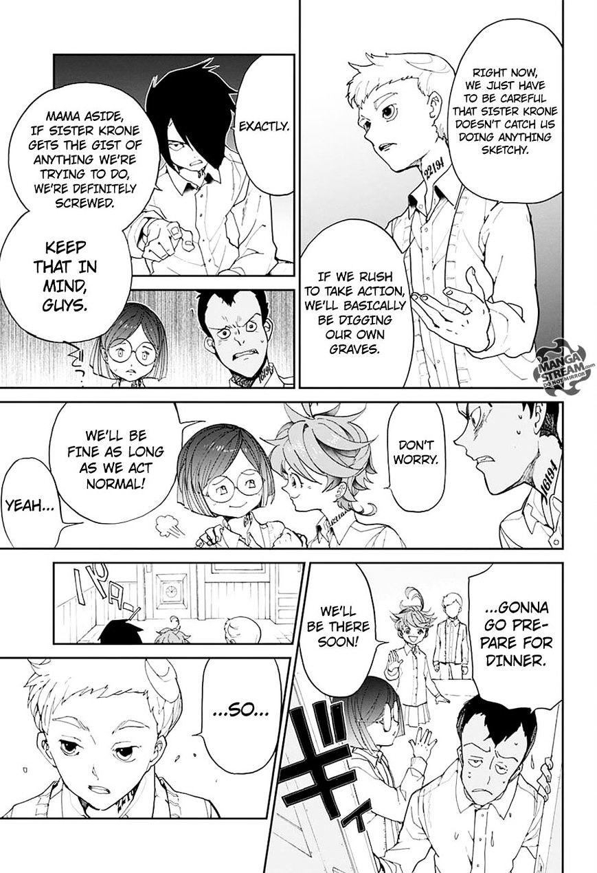 Yakusoku No Neverland Chapter 16  Online Free Manga Read Image 10