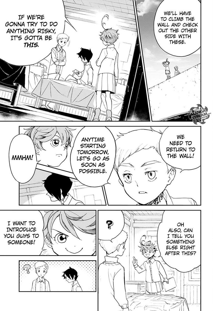 Yakusoku No Neverland Chapter 16  Online Free Manga Read Image 14