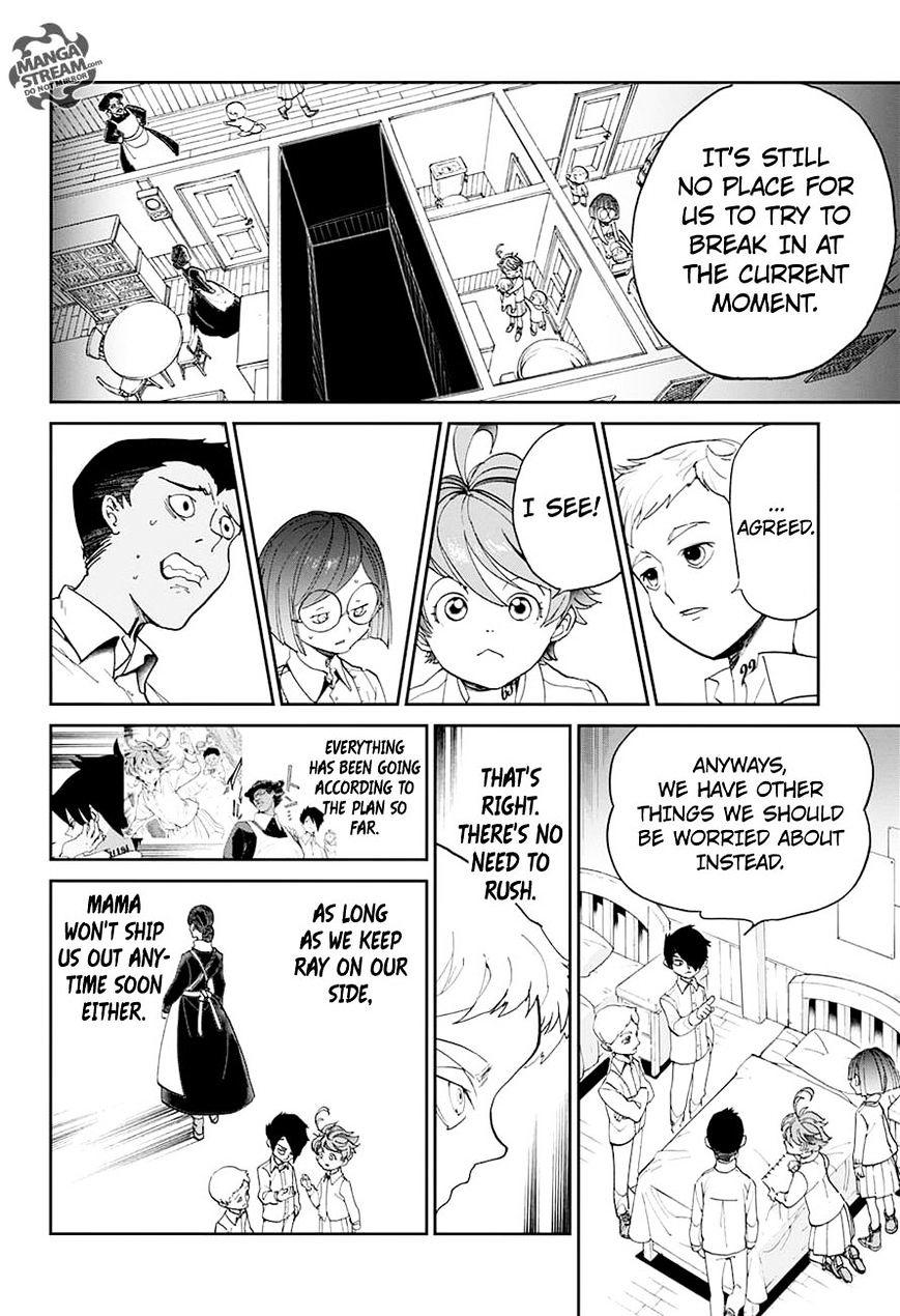 Yakusoku No Neverland Chapter 16  Online Free Manga Read Image 9