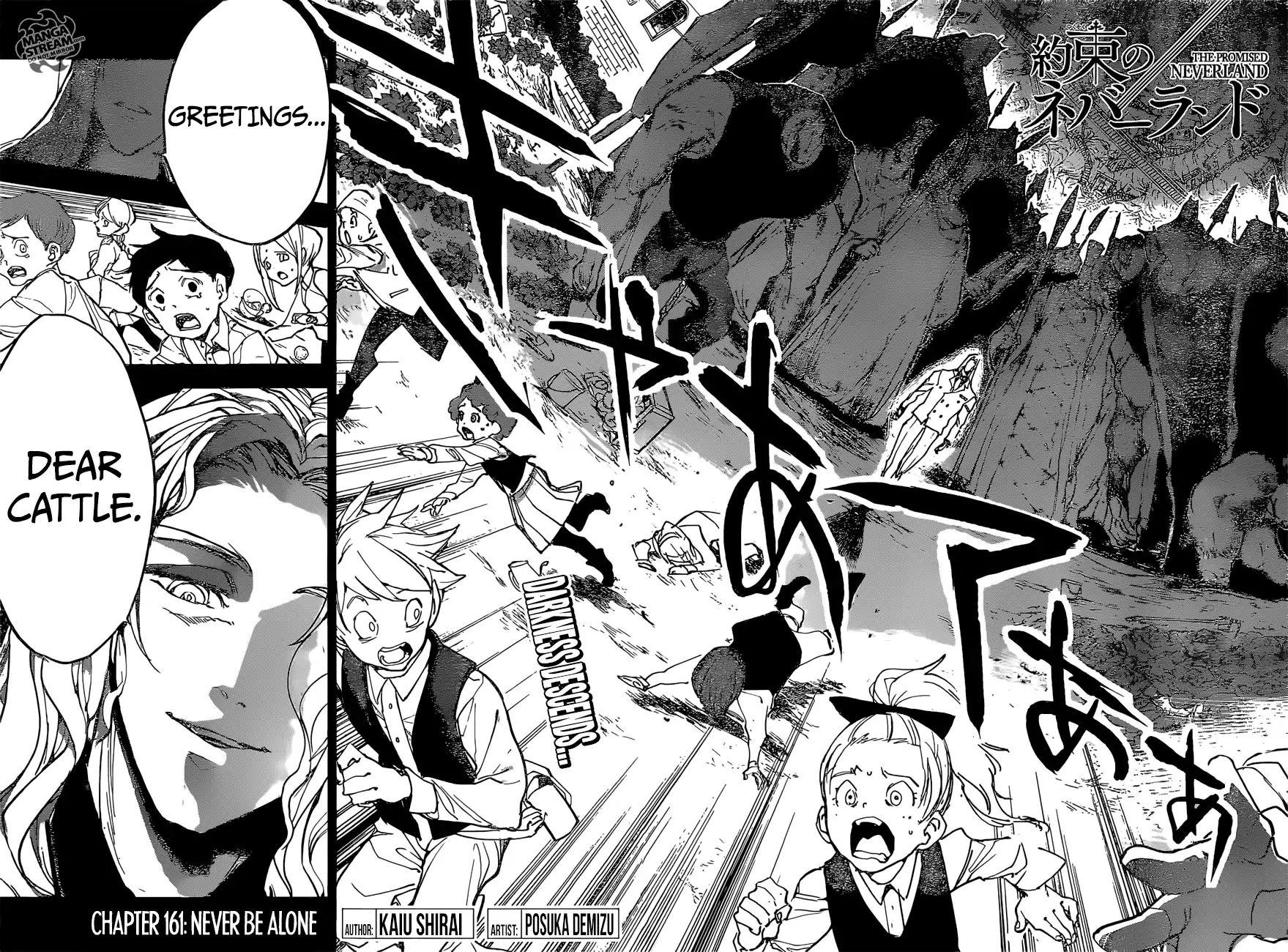 Yakusoku No Neverland Chapter 161  Online Free Manga Read Image 3