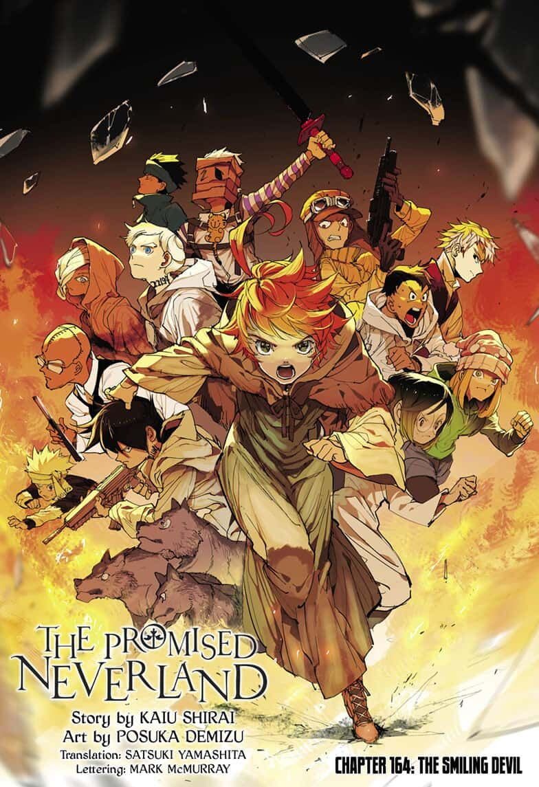 Yakusoku No Neverland Chapter 164  Online Free Manga Read Image 1