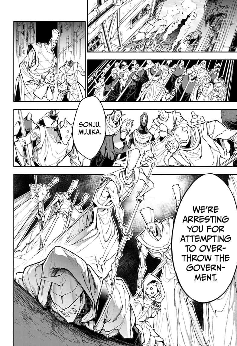 Yakusoku No Neverland Chapter 164  Online Free Manga Read Image 2