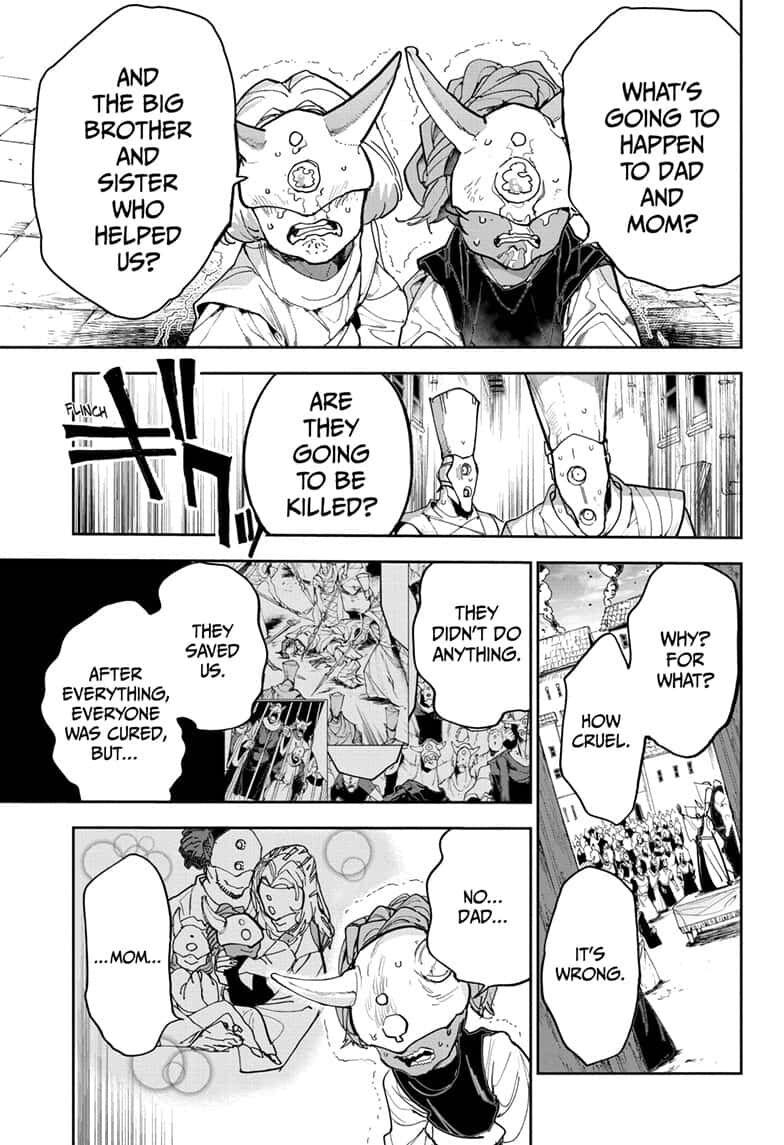Yakusoku No Neverland Chapter 164  Online Free Manga Read Image 7
