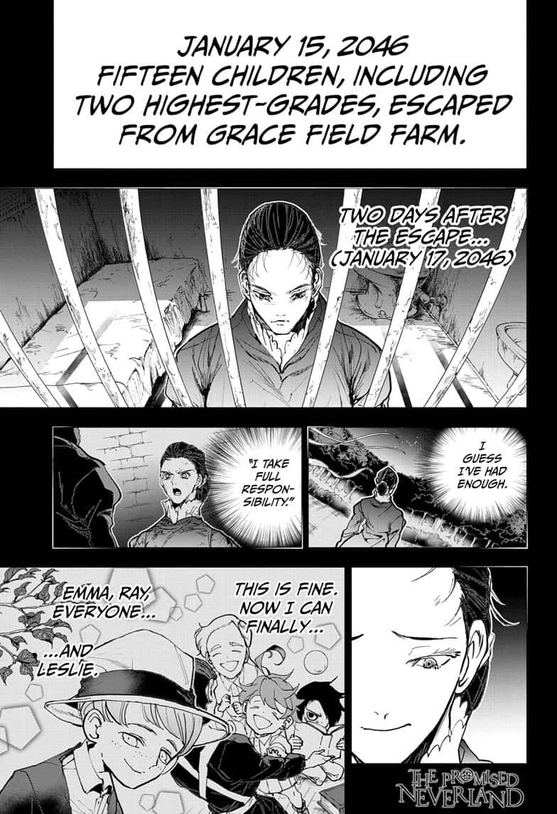 Yakusoku No Neverland Chapter 165  Online Free Manga Read Image 1