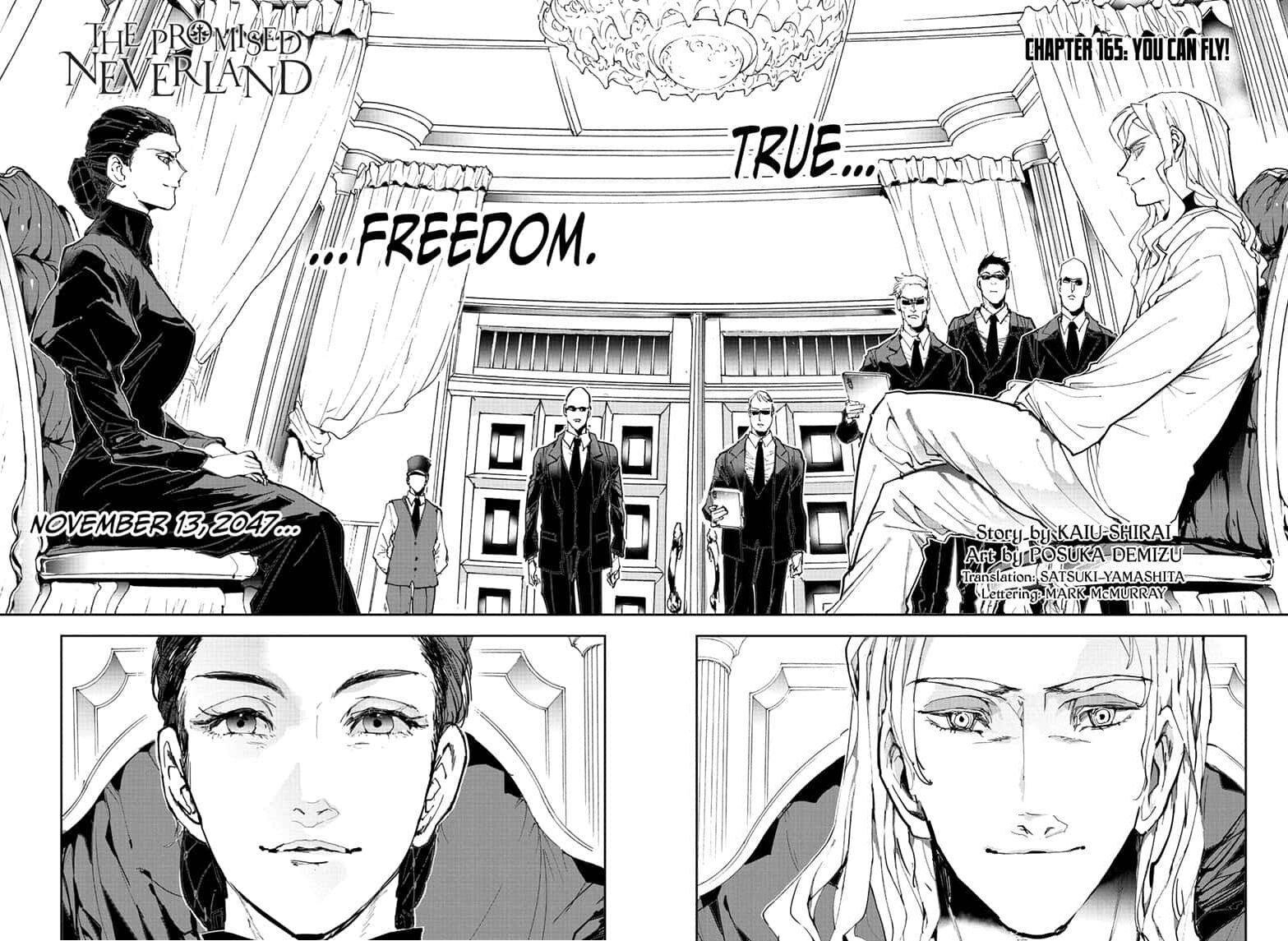 Yakusoku No Neverland Chapter 165  Online Free Manga Read Image 10