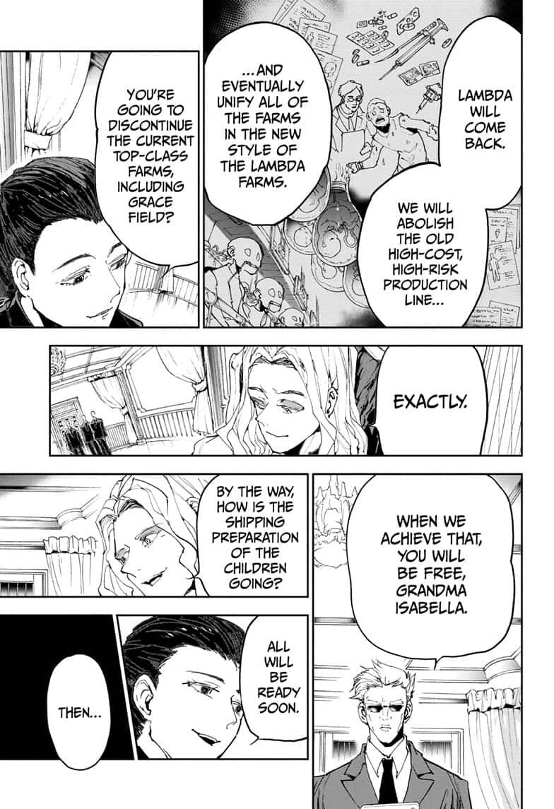 Yakusoku No Neverland Chapter 165  Online Free Manga Read Image 12