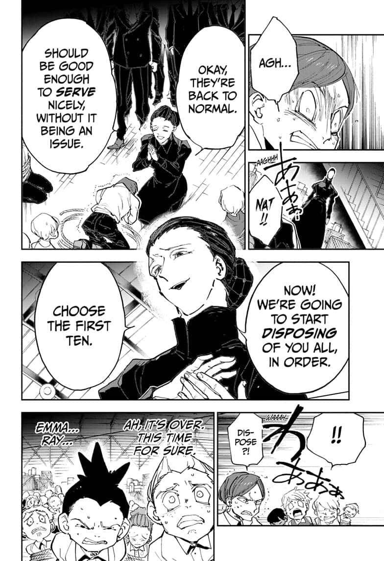 Yakusoku No Neverland Chapter 165  Online Free Manga Read Image 17