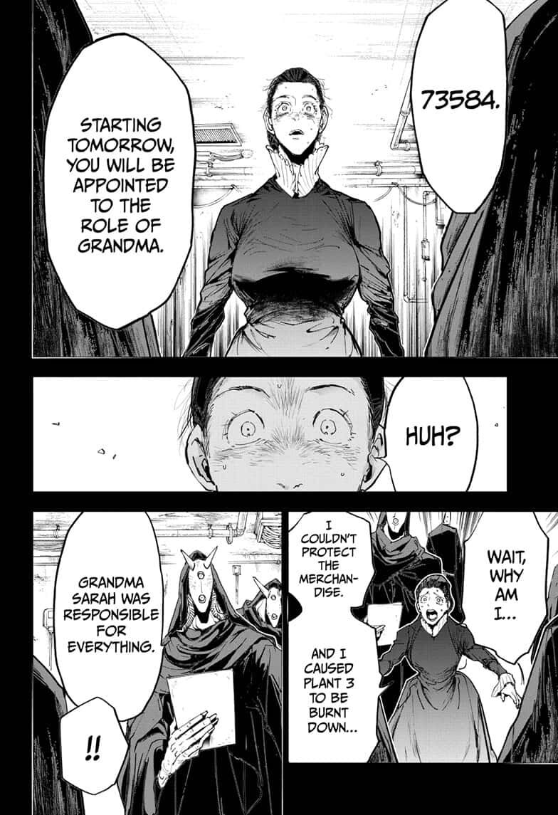 Yakusoku No Neverland Chapter 165  Online Free Manga Read Image 2