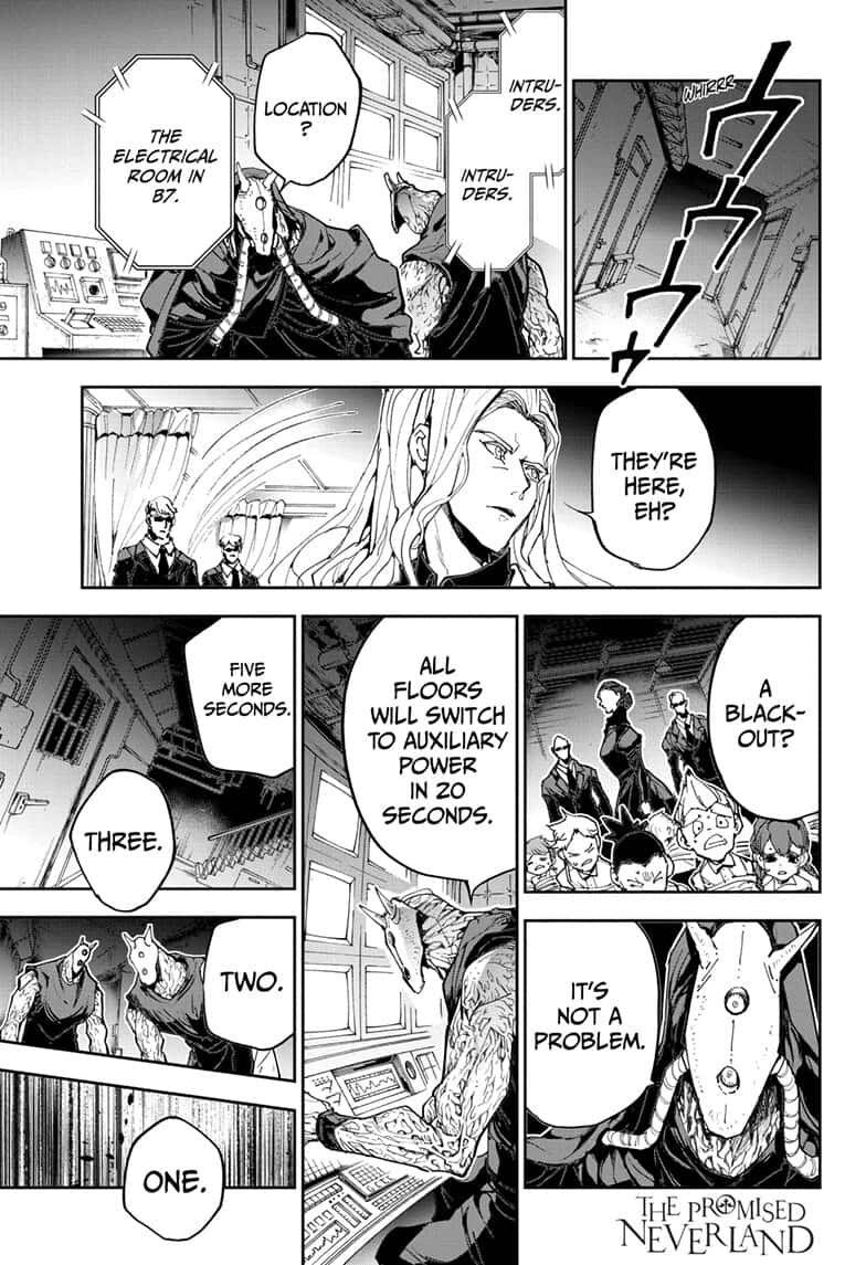Yakusoku No Neverland Chapter 166  Online Free Manga Read Image 1