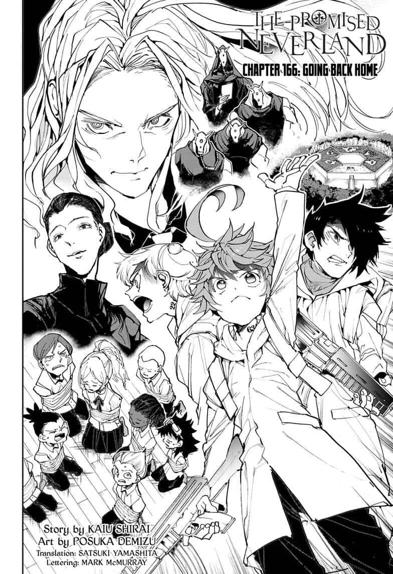 Yakusoku No Neverland Chapter 166  Online Free Manga Read Image 2