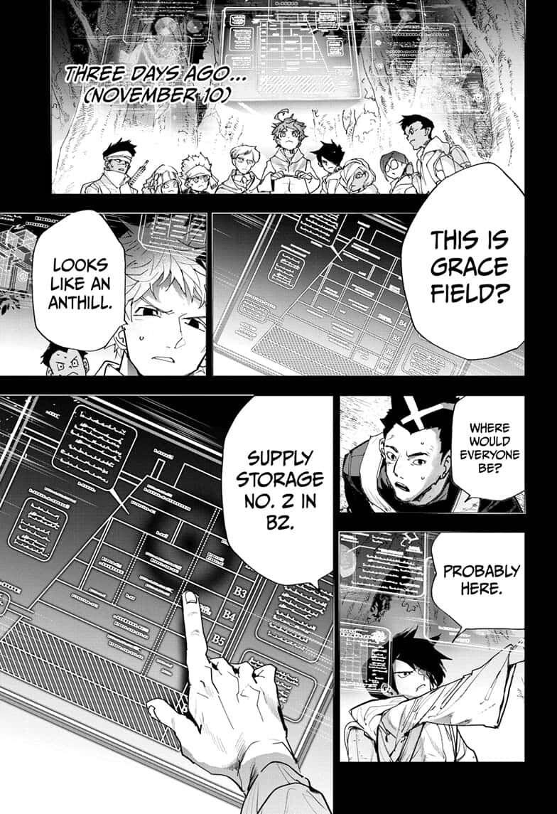 Yakusoku No Neverland Chapter 166  Online Free Manga Read Image 3
