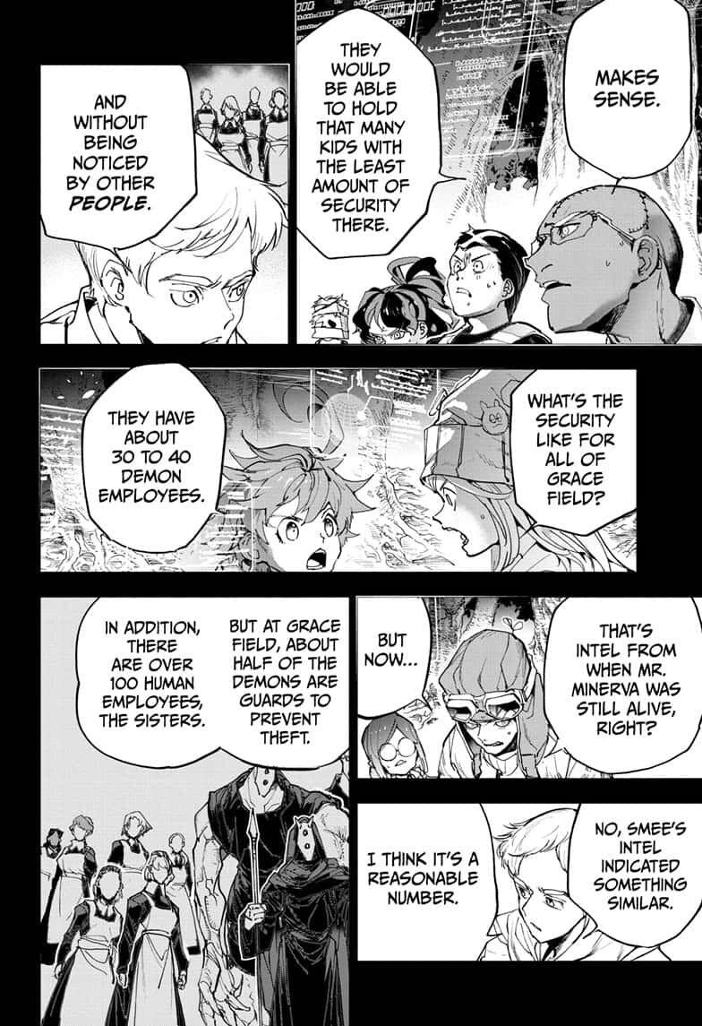 Yakusoku No Neverland Chapter 166  Online Free Manga Read Image 4