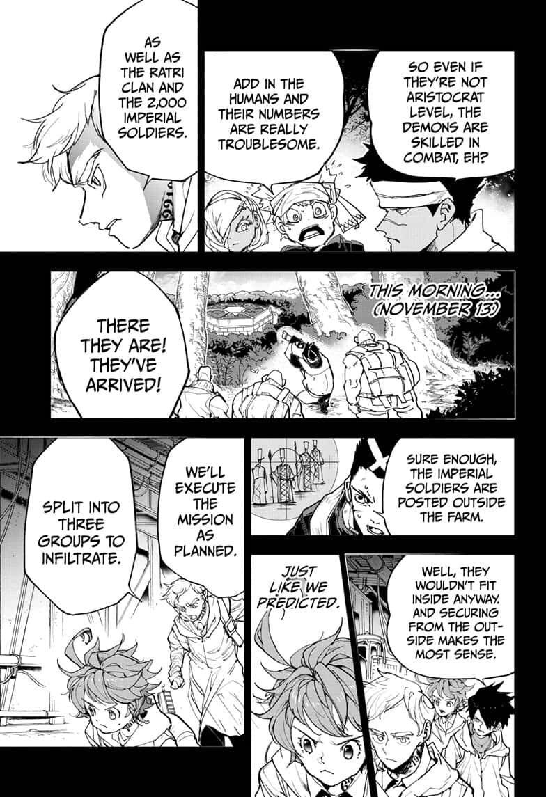 Yakusoku No Neverland Chapter 166  Online Free Manga Read Image 5