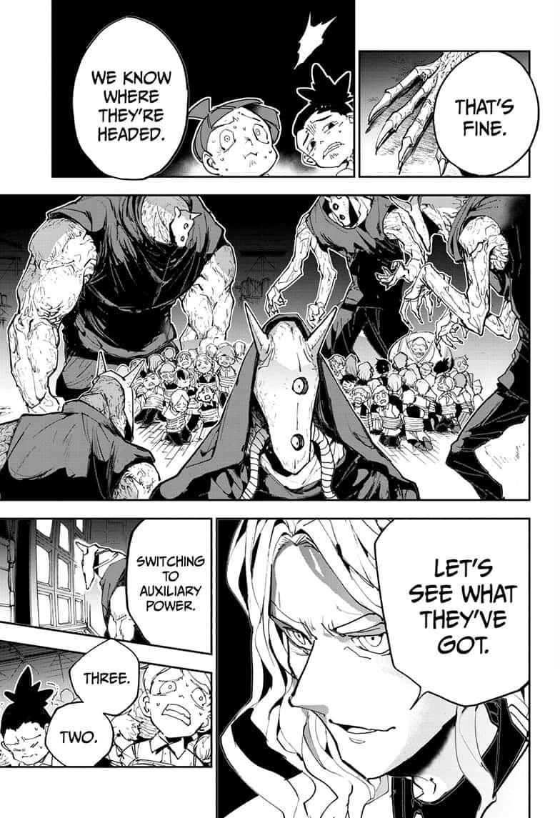 Yakusoku No Neverland Chapter 166  Online Free Manga Read Image 7