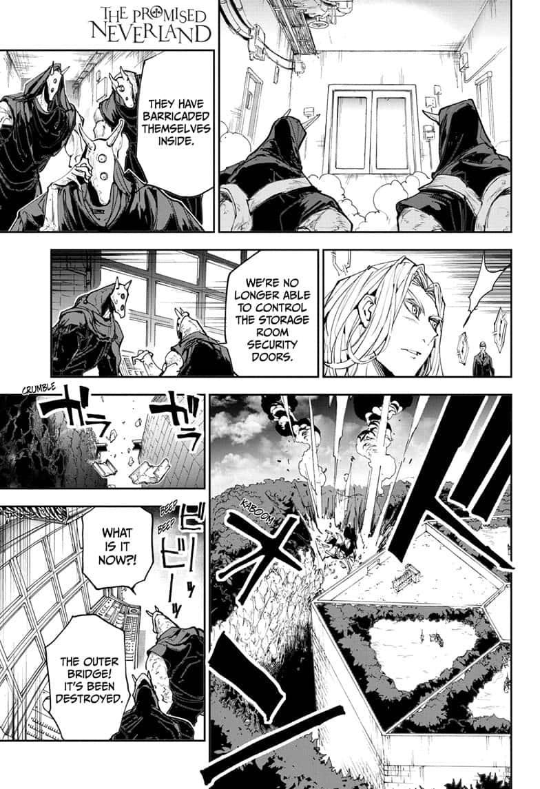 Yakusoku No Neverland Chapter 167  Online Free Manga Read Image 1