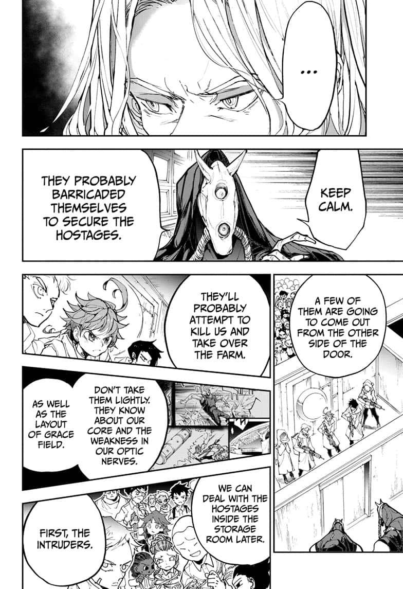 Yakusoku No Neverland Chapter 167  Online Free Manga Read Image 4