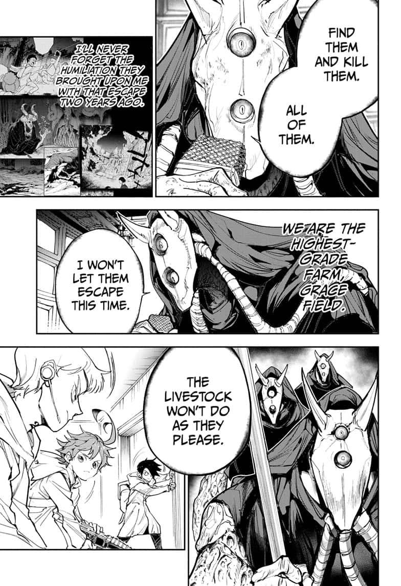 Yakusoku No Neverland Chapter 167  Online Free Manga Read Image 5