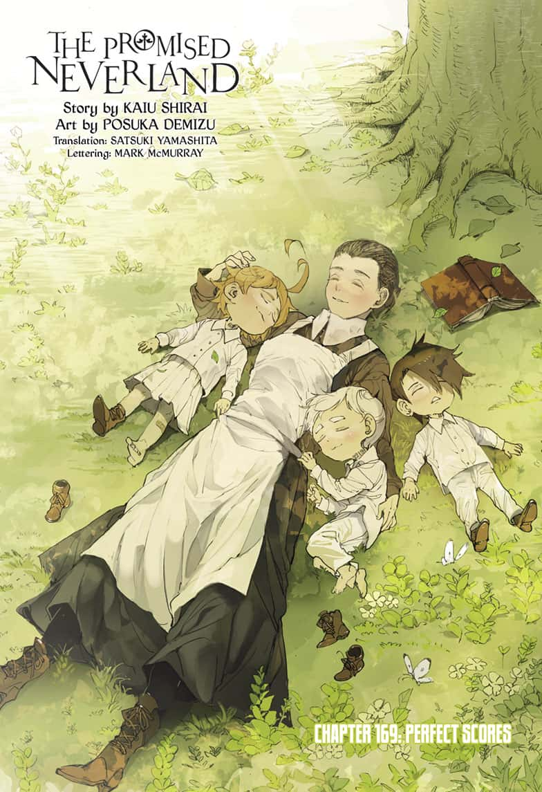 Yakusoku No Neverland Chapter 169  Online Free Manga Read Image 1