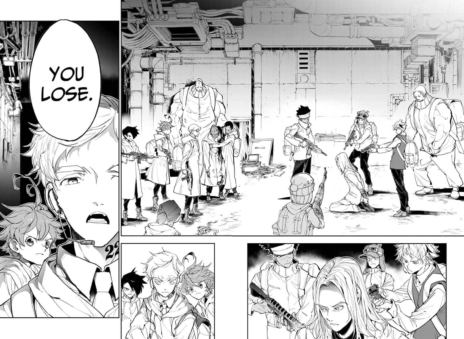 Yakusoku No Neverland Chapter 169  Online Free Manga Read Image 12