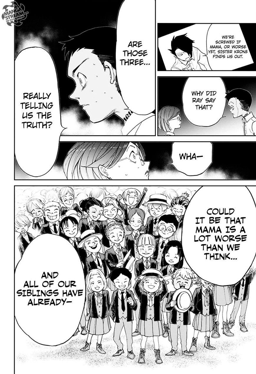 Yakusoku No Neverland Chapter 17  Online Free Manga Read Image 19