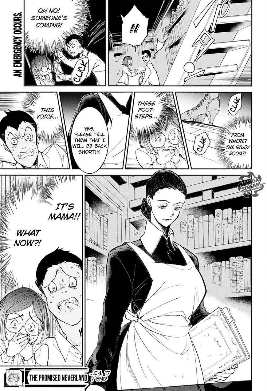 Yakusoku No Neverland Chapter 17  Online Free Manga Read Image 20