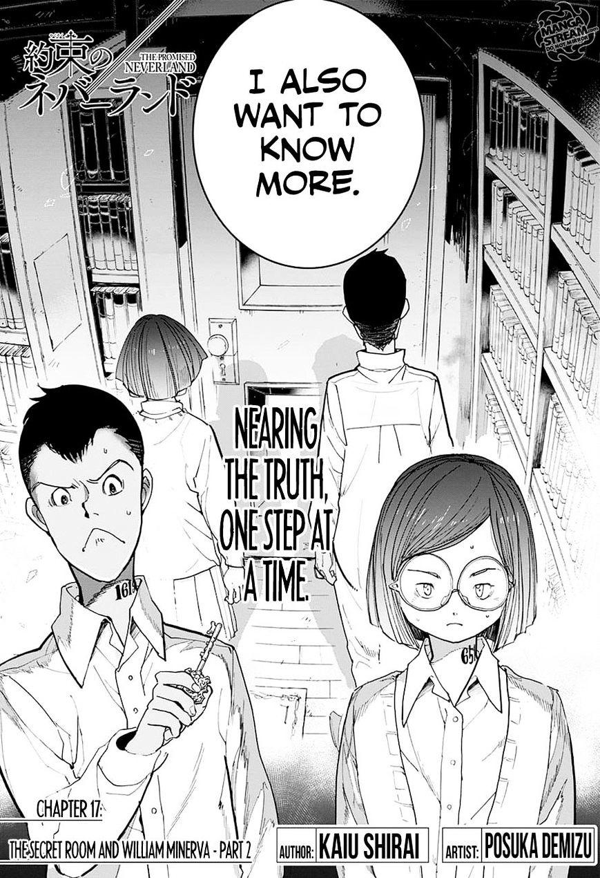 Yakusoku No Neverland Chapter 17  Online Free Manga Read Image 4