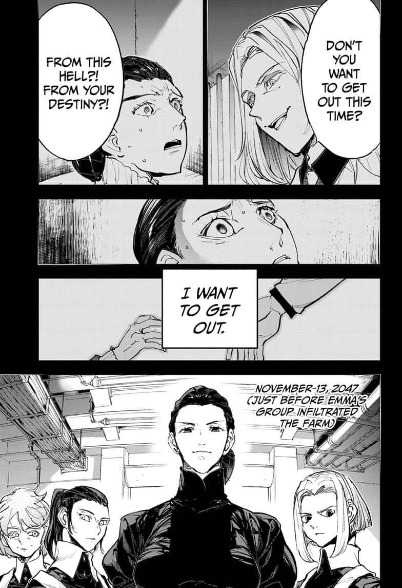 Yakusoku No Neverland Chapter 170  Online Free Manga Read Image 1