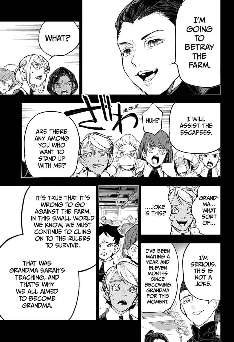 Yakusoku No Neverland Chapter 170  Online Free Manga Read Image 3
