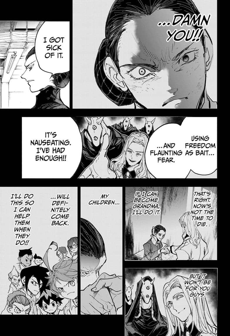 Yakusoku No Neverland Chapter 170  Online Free Manga Read Image 7