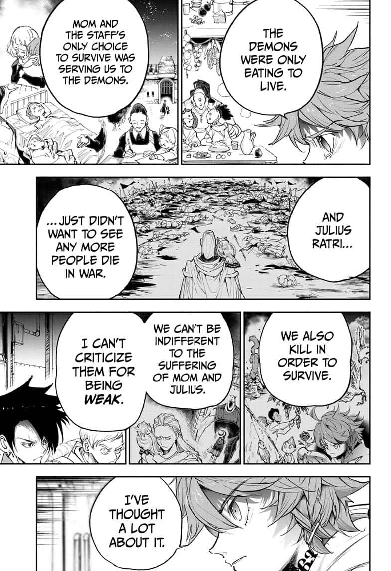 Yakusoku No Neverland Chapter 172  Online Free Manga Read Image 16