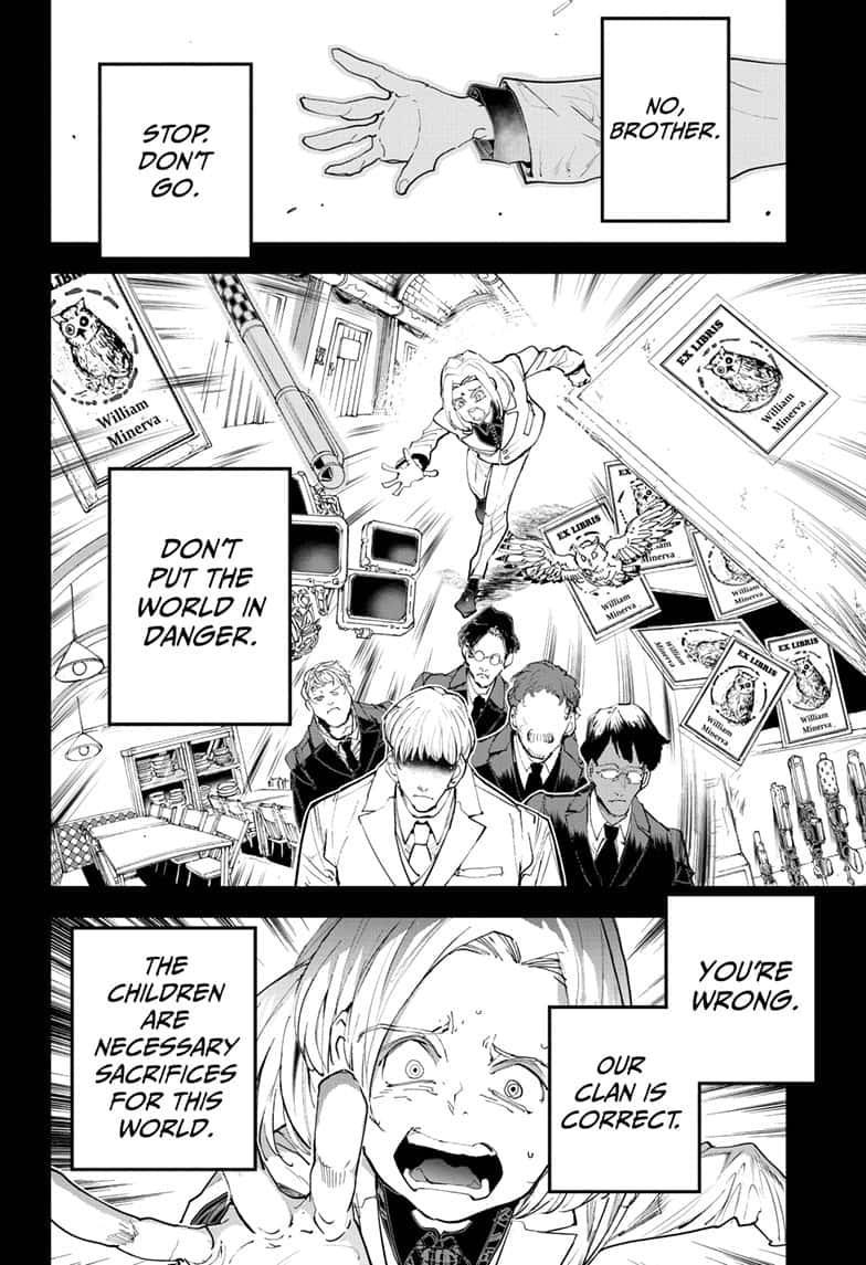 Yakusoku No Neverland Chapter 173  Online Free Manga Read Image 8