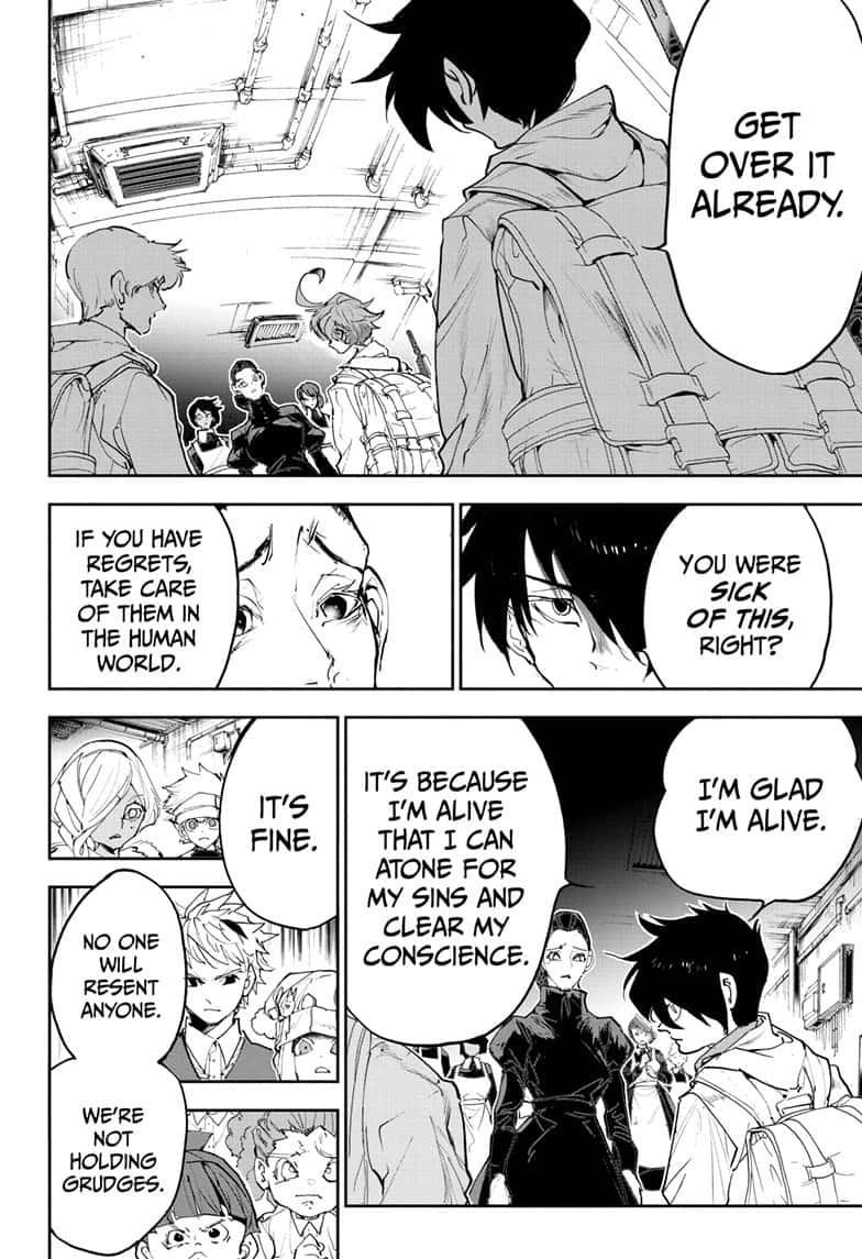 Yakusoku No Neverland Chapter 174  Online Free Manga Read Image 11