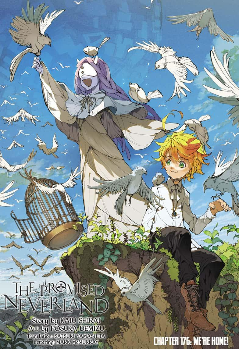 Yakusoku No Neverland Chapter 176  Online Free Manga Read Image 1