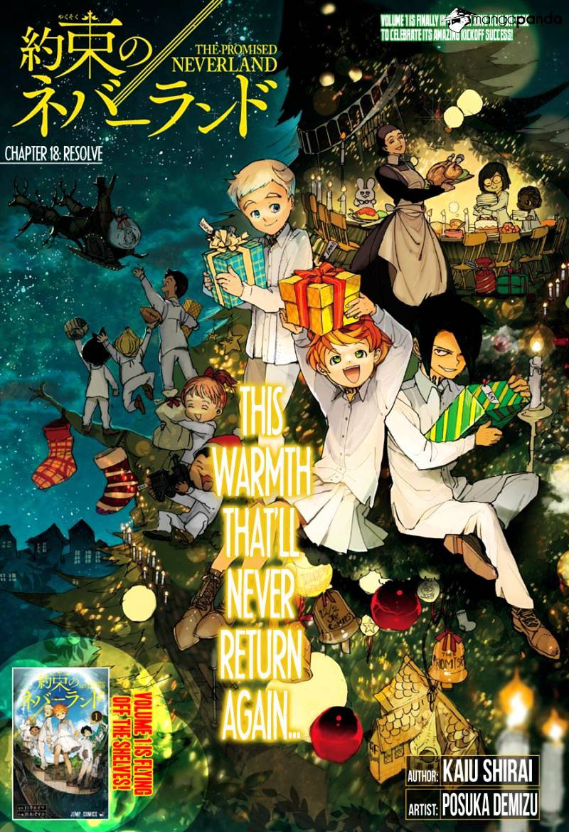 Yakusoku No Neverland Chapter 18  Online Free Manga Read Image 1