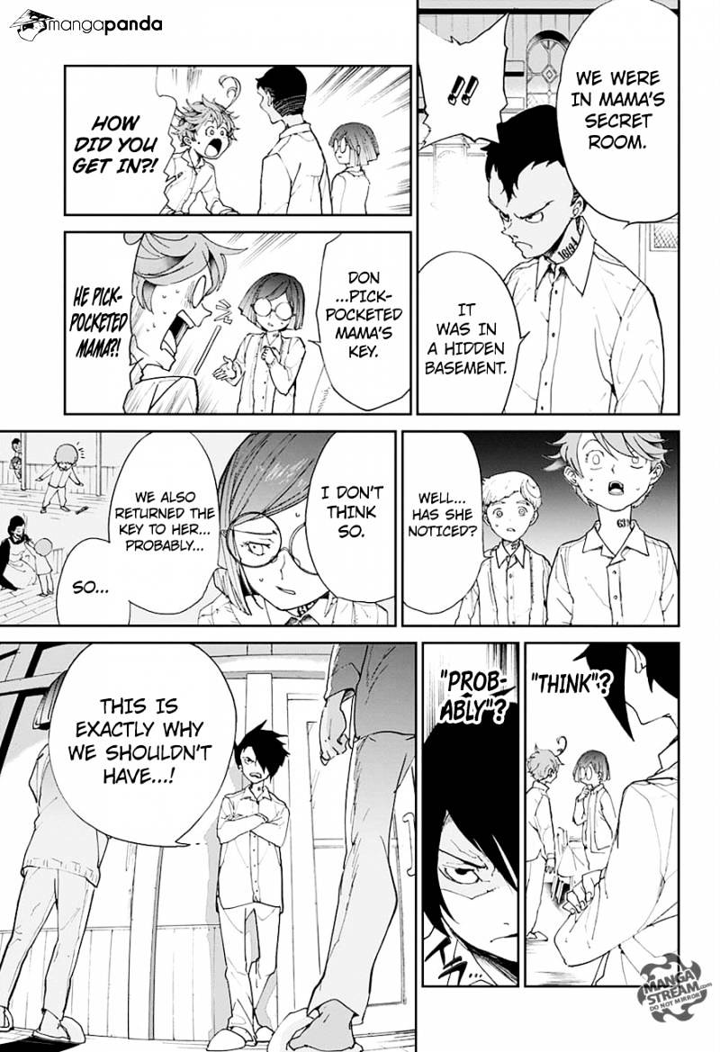 Yakusoku No Neverland Chapter 18  Online Free Manga Read Image 10
