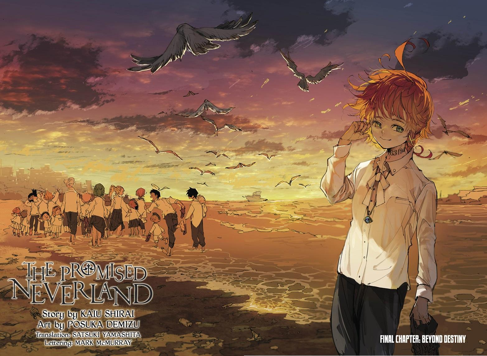 Yakusoku No Neverland Chapter 181  Online Free Manga Read Image 1