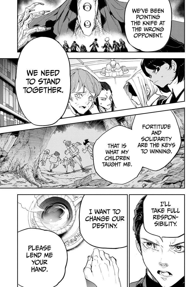 Yakusoku No Neverland Chapter 184  Online Free Manga Read Image 24