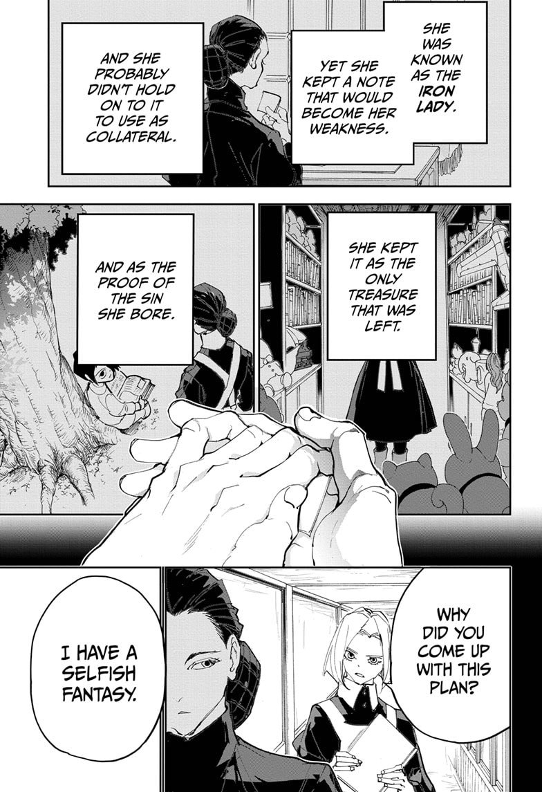 Yakusoku No Neverland Chapter 184  Online Free Manga Read Image 30