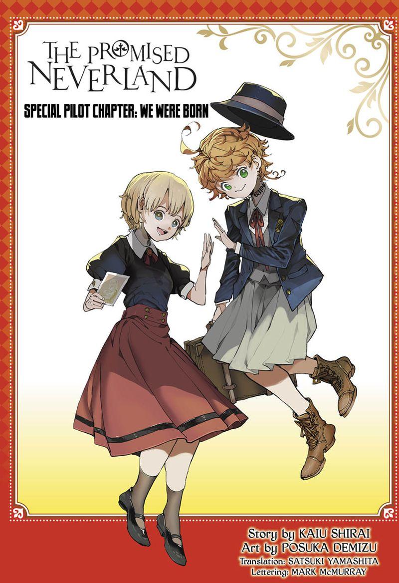 Yakusoku No Neverland Chapter 185  Online Free Manga Read Image 1
