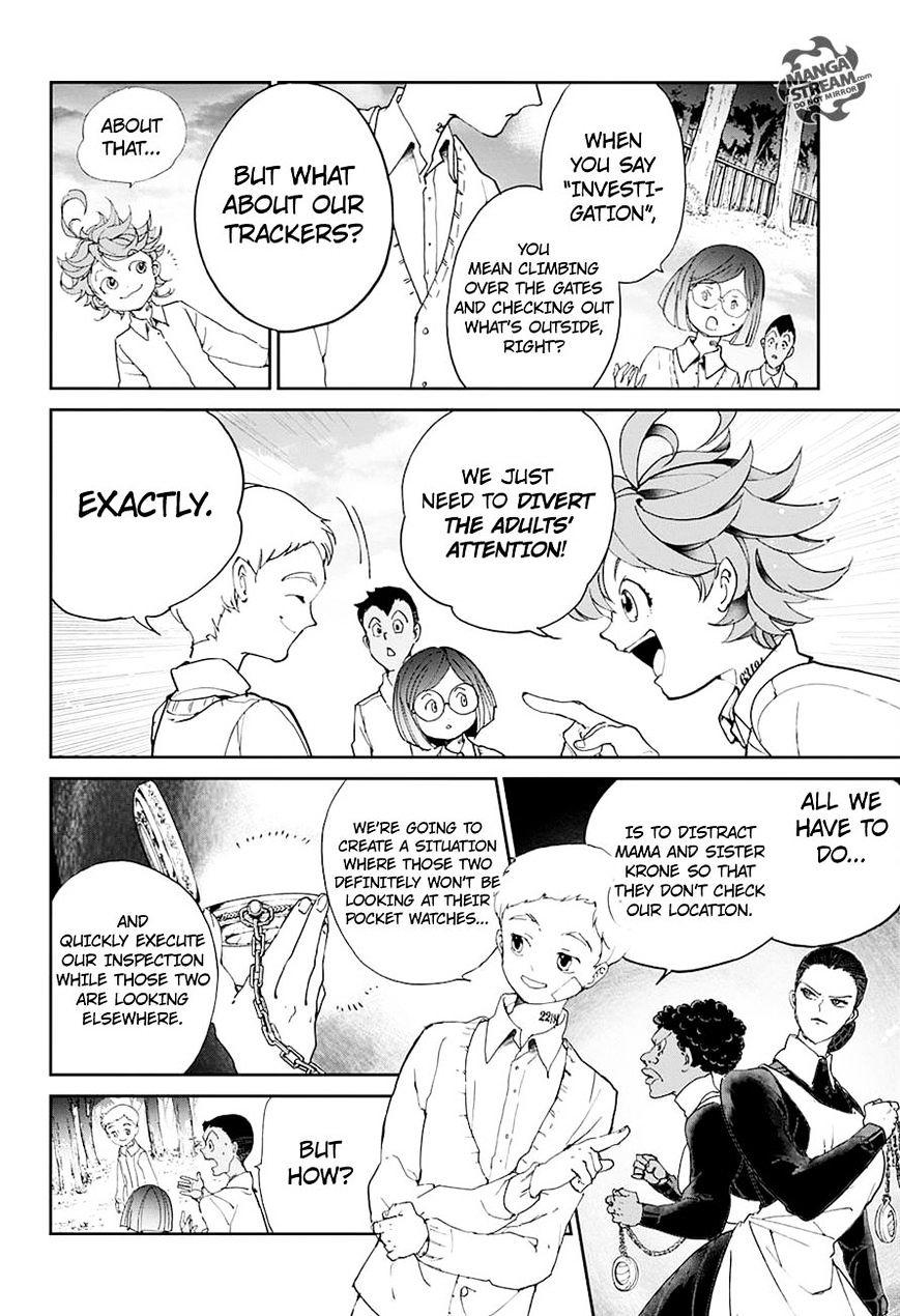 Yakusoku No Neverland Chapter 19  Online Free Manga Read Image 10