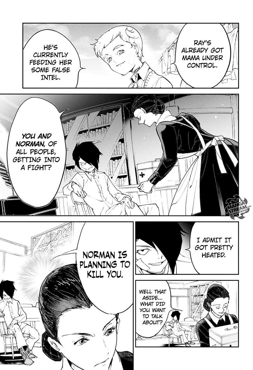 Yakusoku No Neverland Chapter 19  Online Free Manga Read Image 11
