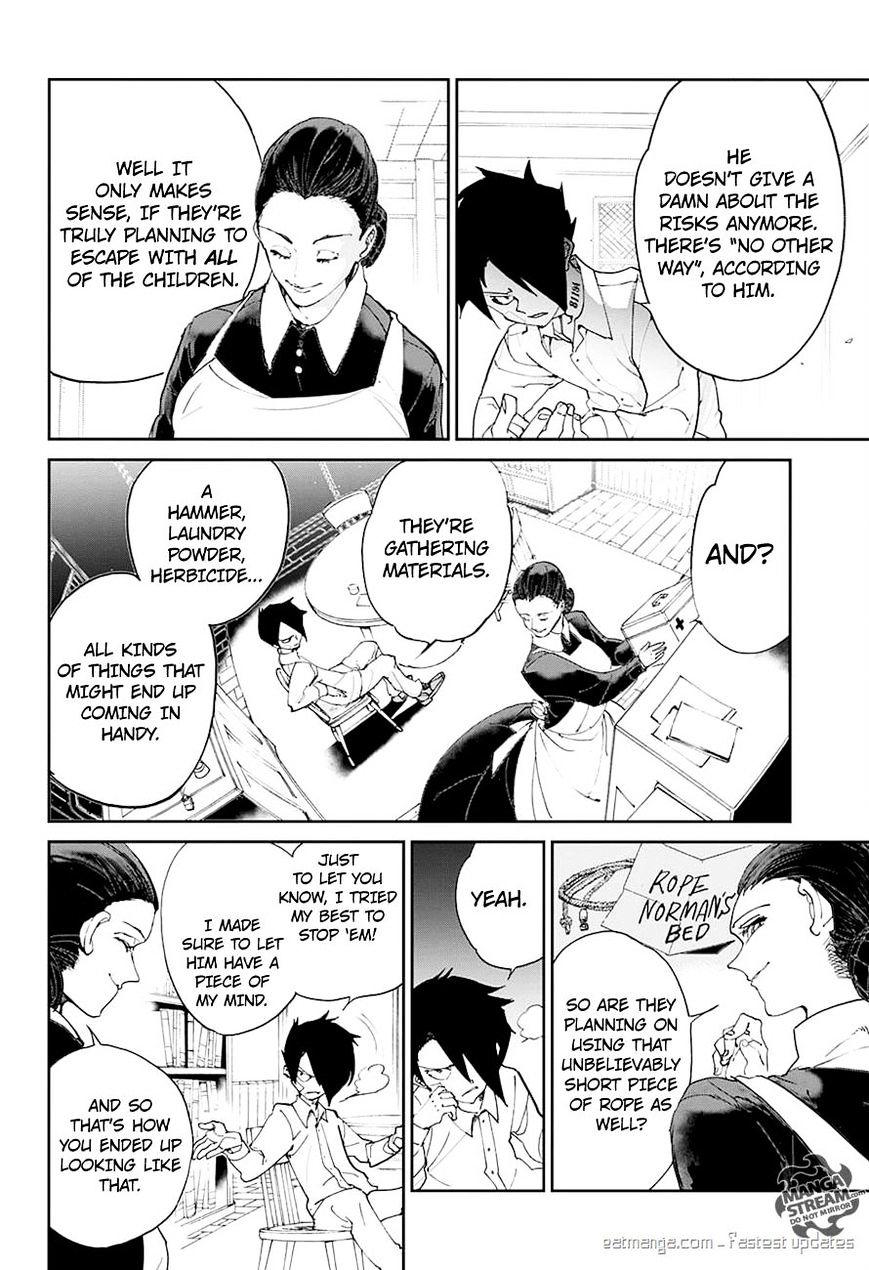 Yakusoku No Neverland Chapter 19  Online Free Manga Read Image 12