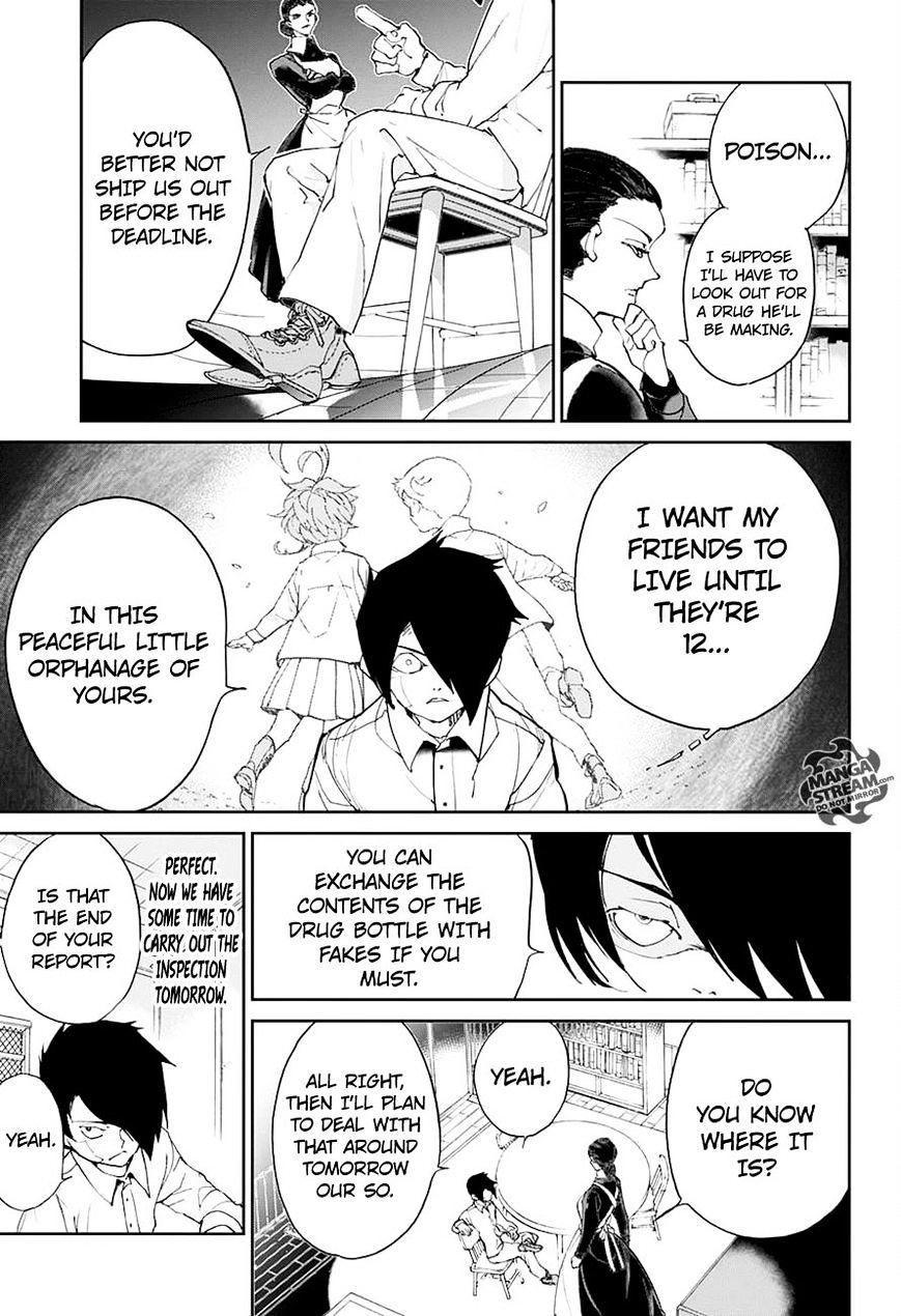 Yakusoku No Neverland Chapter 19  Online Free Manga Read Image 13